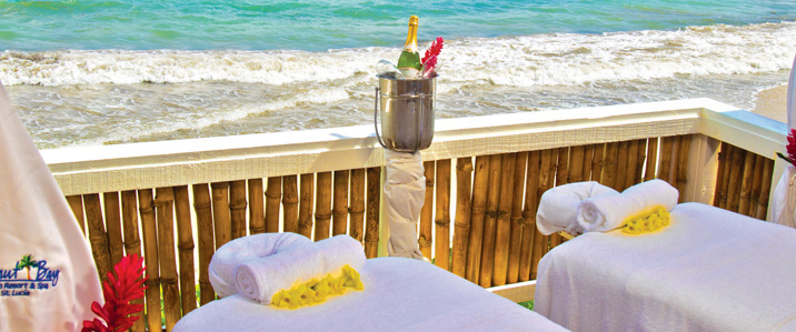 Champagne & Chocolate Spa Package